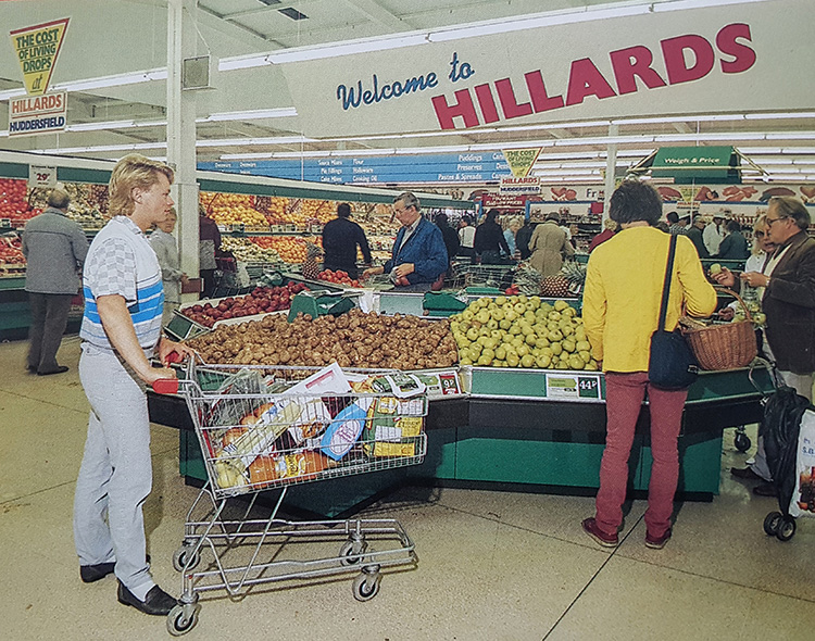 Hillards Supermarket circa 1986