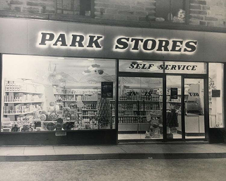 Hillards Supermarket circa 1968